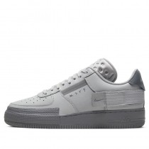 Nike Air Force 1 Type (Grises/Grises) CT2584-001