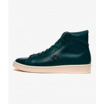 Converse Pro Leather Hi x Horween (Azul oscuro) 168751C