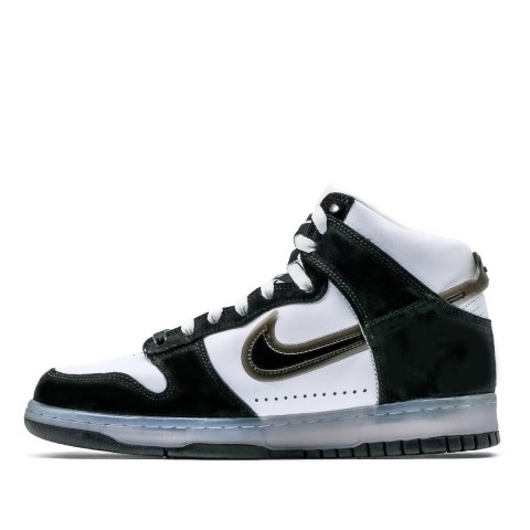 Slam Jam x Nike Dunk High (Blancas/Clear/Negras) DA1639-101