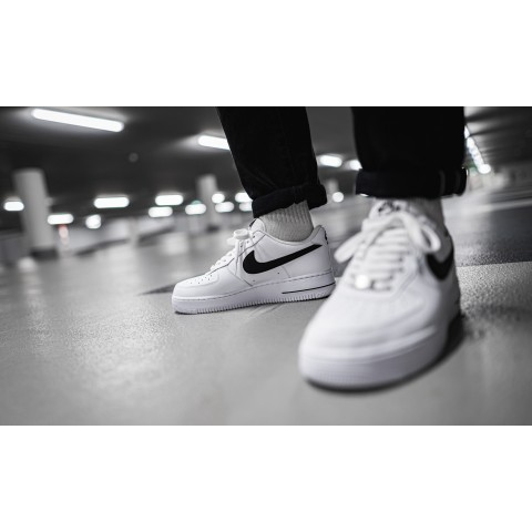 Nike Air Force 1 '07 AN20 (Blancas/Negras) CJ0952-100