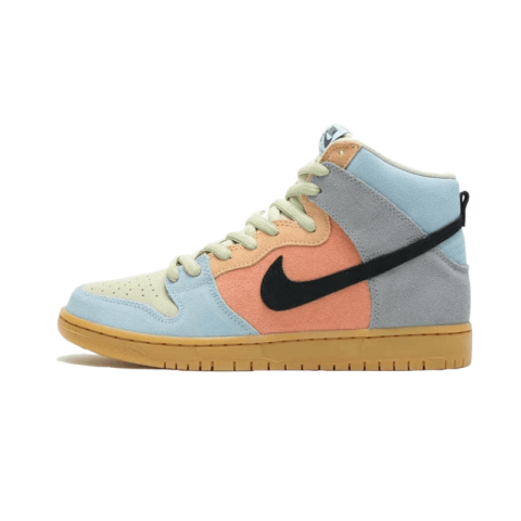Nike SB Dunk High Spectrum (Multi-Color/Negras) CN8345-001