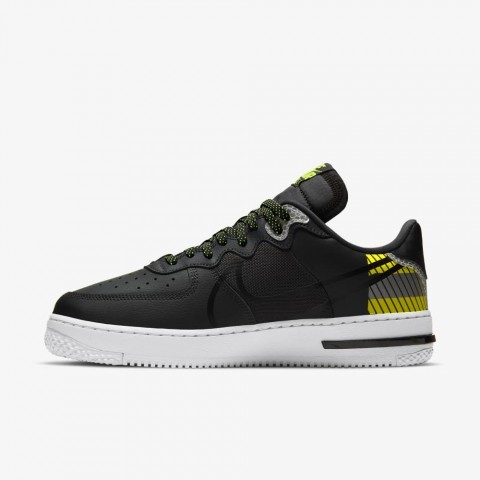 3M x Nike Air Force 1 React D/MS/X (Anthracite/Negras) CT3316-003
