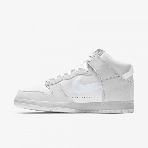 Slam Jam x Nike Dunk High (Blancas/Pure Platinum) DA1639-100