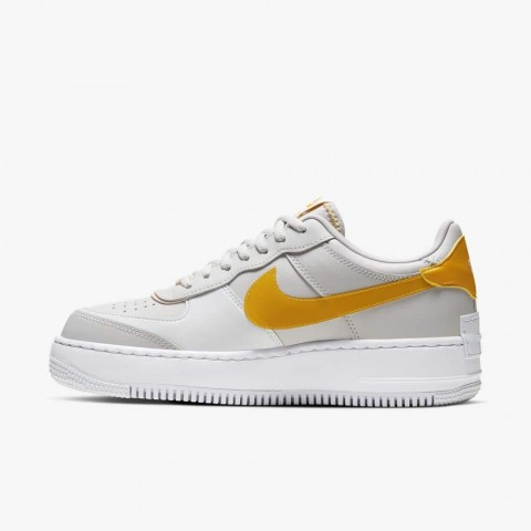Nike Air Force 1 Shadow SE (Grises/Pollen Rise/Washed Coral) CQ9503-001