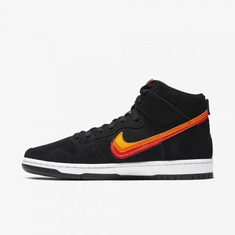 Nike SB Dunk High Pro Truck It (Negras/Oro) BQ6826-003