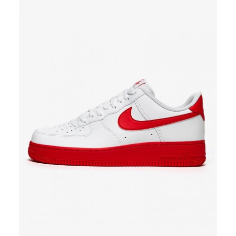 Nike Air Force 1 '07 (Blancas/Rojas) CK7663-102
