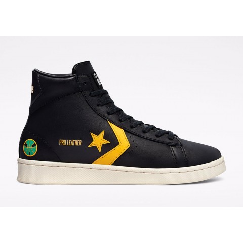 Roswell Rayguns x Converse Pro Leather (Negras/Oro) 171166C